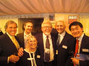 Murray Newlands and Rolf Harris