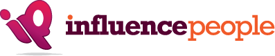 Influence People Social Media Marketing Events Logo