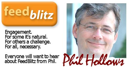 Phil Hollows of Feedblitz